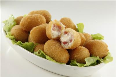 MINI CROQUETAS CON JAMON Y QUESO - 6 KG